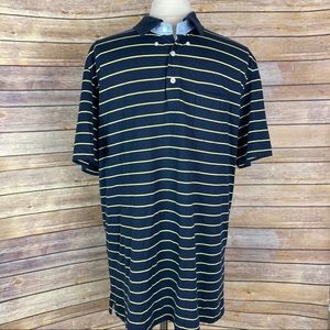 Brooks Brothers Striped Polo, Size XL